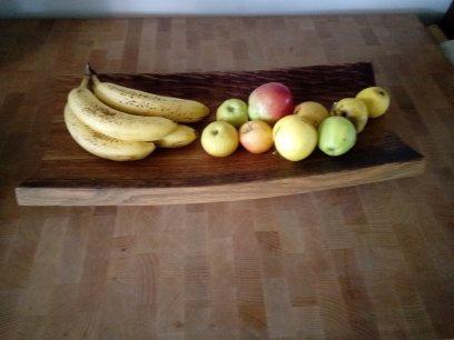 Oak barrel Fruit platter