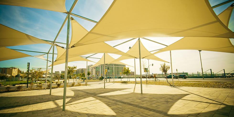 Portable shade and shelter