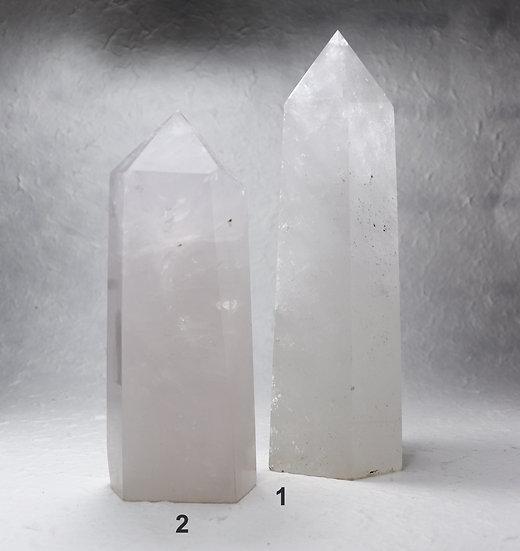 Quartz crystal tower- Long