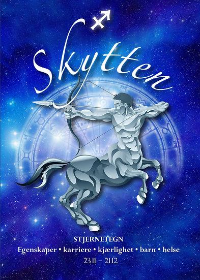 Skytten. Bok om stjernetegnets  egenskaper, Karriere, Kjærlighet, barn og helse