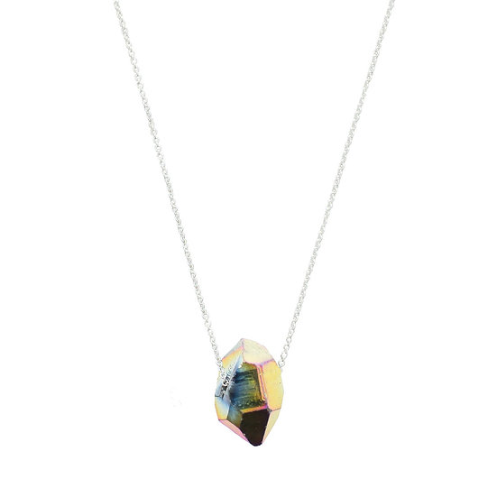Flame aura quartz - Aura collection - Made in Norway