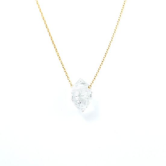 Piece of earth - Herkimer Diamond Necklace