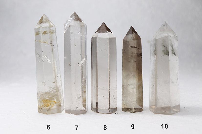 Smoky quartz tower -Stone of grounding