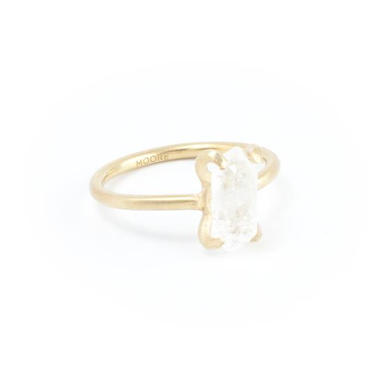 Piece of earth - Herkimer Diamond