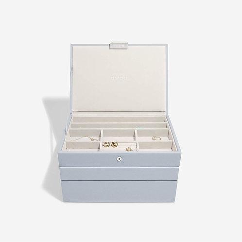 Classic Set of 3 Jewellery Box - Lavender