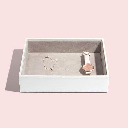 Classic Chunky Jewellery Layer - White