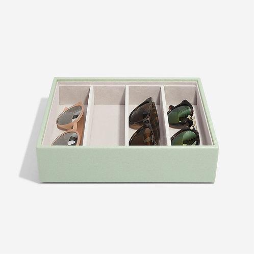 Classic Glasses & Accessory Layer - Sage Green