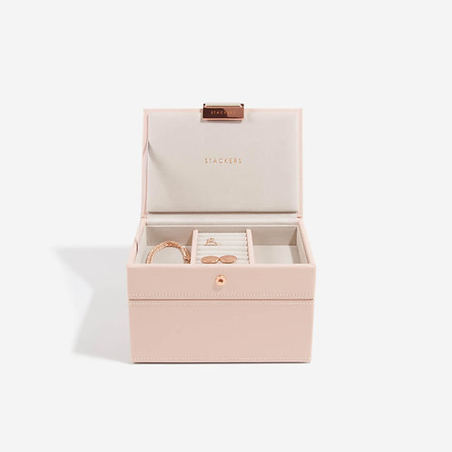 Mini Set of 2 Jewellery Box - Blush