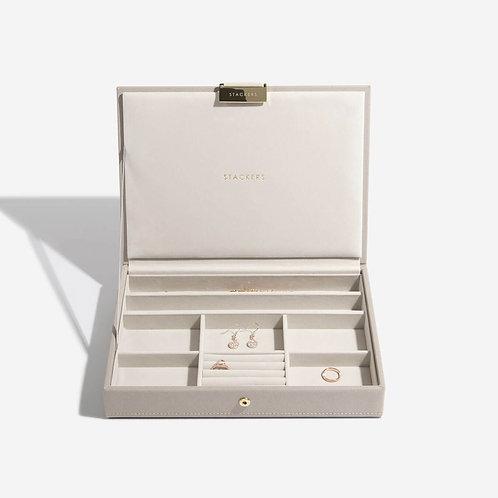 Classic Jewellery Box Lid - Taupe