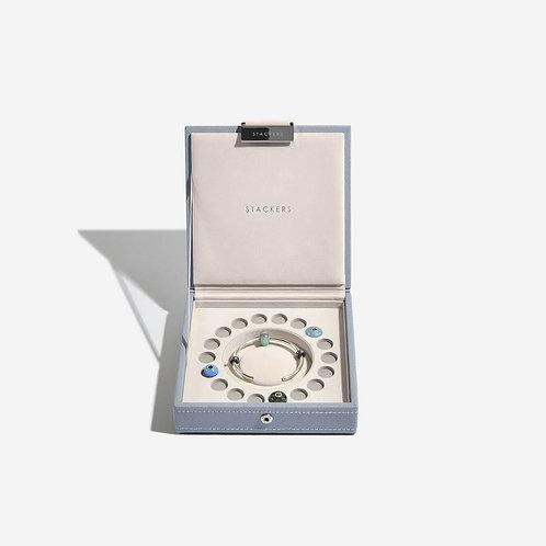 Charm Jewellery Box - Dusky Blue