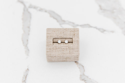 Lab Created Diamond Stud Earrings