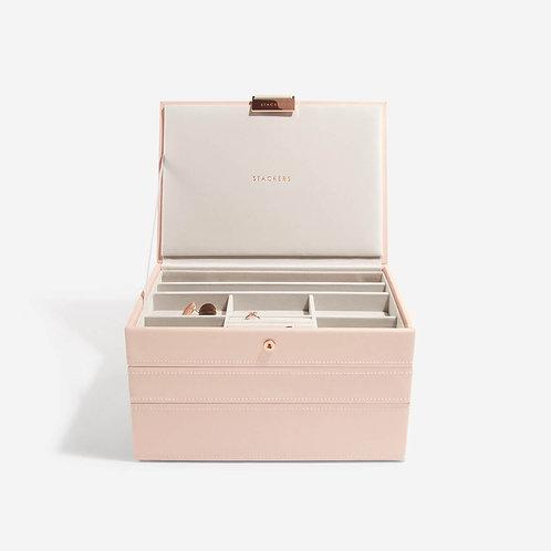 Classic Set of 3 Jewellery Box - Blush