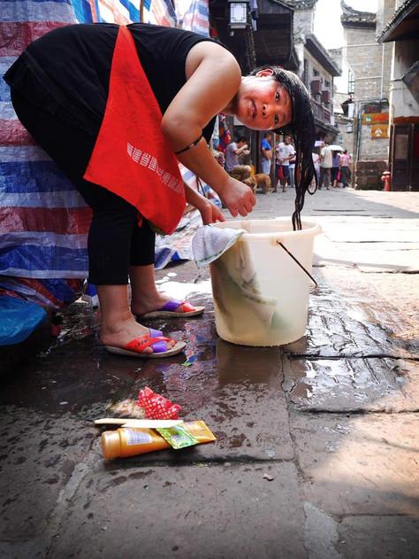 China Land of change.