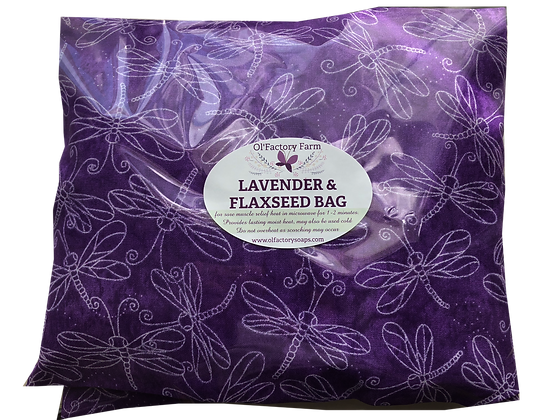 Lavender Bag with Flaxseed