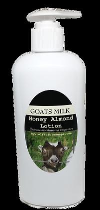 Honey & Almond Goats Milk Lotion