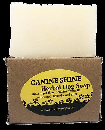 Canine Shine- Herbal Dog Soap