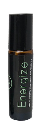 Energize - Aromatherapy Essential Oil Blend Roll-On