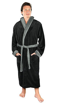 Mens Collared Robe