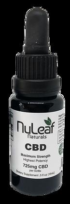 NuLeaf Naturals CBD Oil 725 mg.