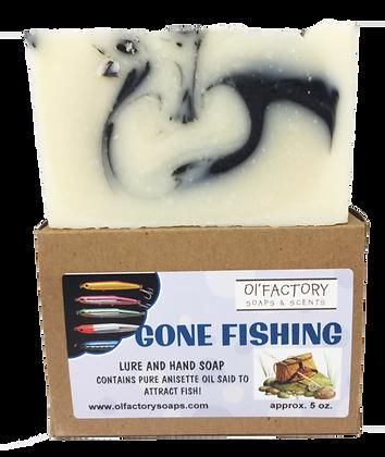 Gone Fishing Soap