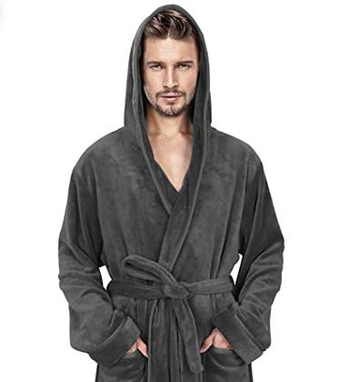 Mens Hooded Robe