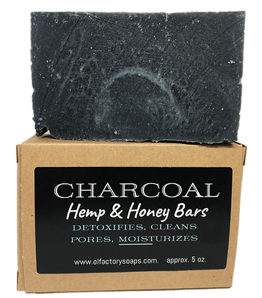 Charcoal Hemp & Honey Bar