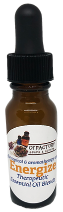 Aromatherapy Essential Oil Blend-Energize