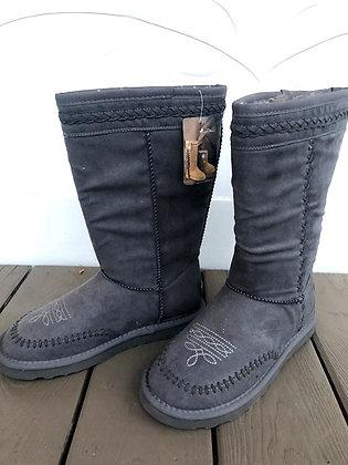 Grey Montana West Boots
