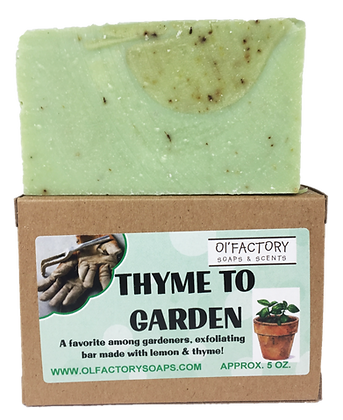 Thyme to Garden- Hand Soap for Gardeners