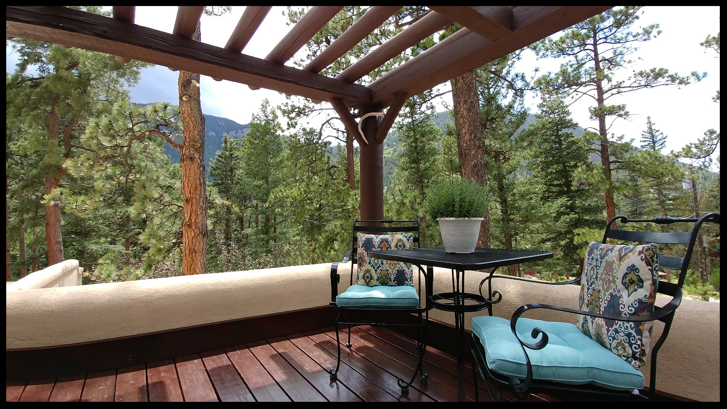 Moonlight Suite's Private Deck