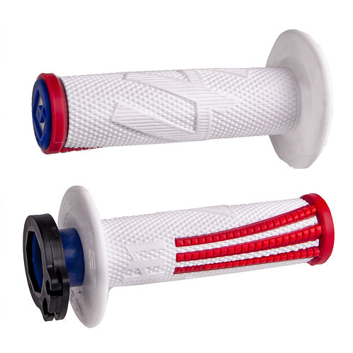 ODI EMIG Pro V2 Lock-On RED WHITE
