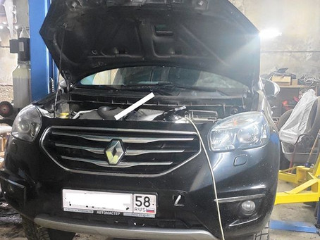 Диагностика вариатора Renault Koleos в Пензе