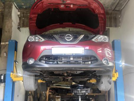 Замена гидроблока вариатора JF016E на Nissan Qashqai в Пензе