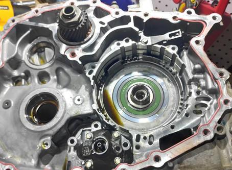 Ремонт вариатора JF016E Nissan Qashqai J11