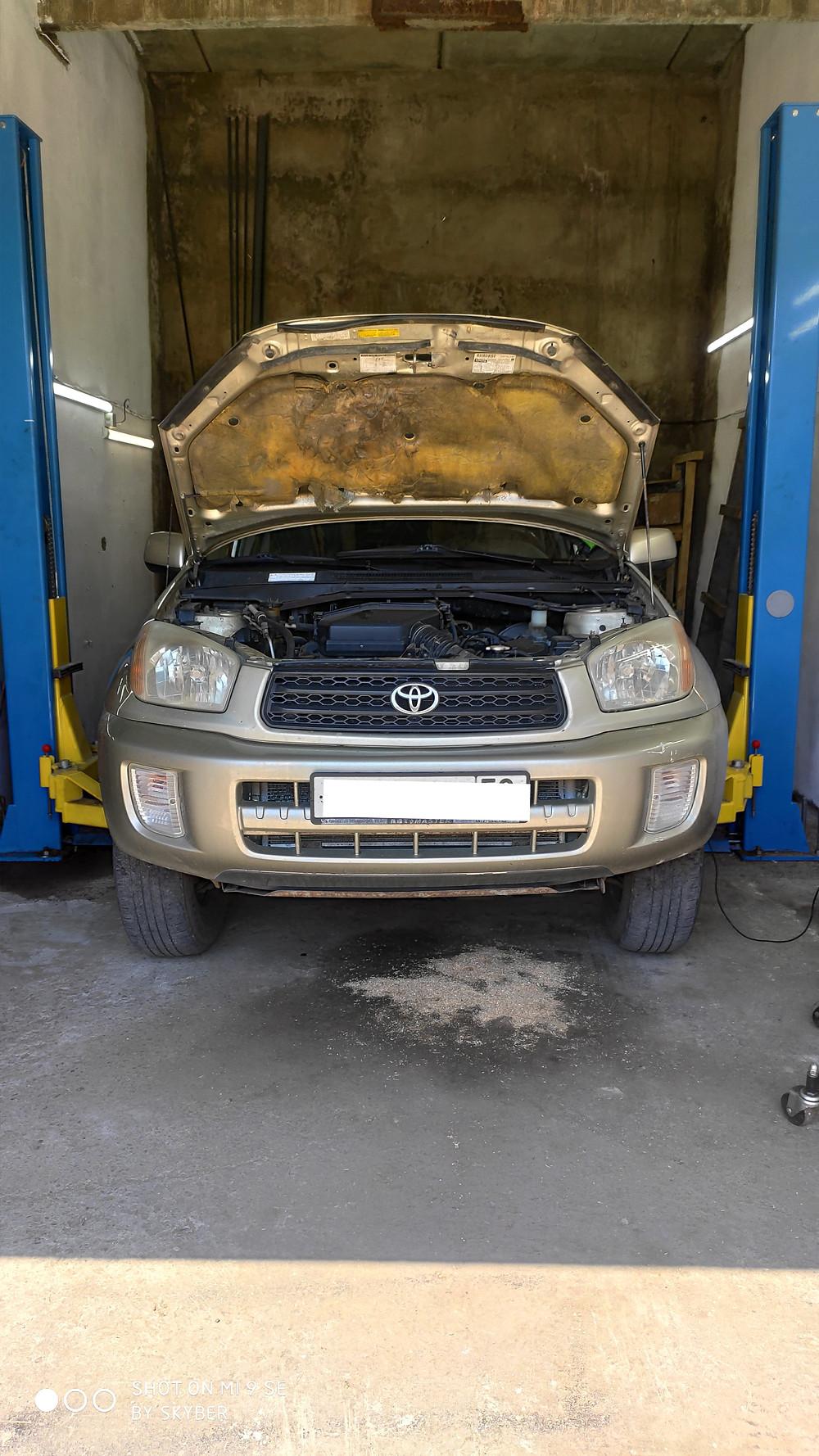 Акпп диагностика Пенза Toyota Rav-4