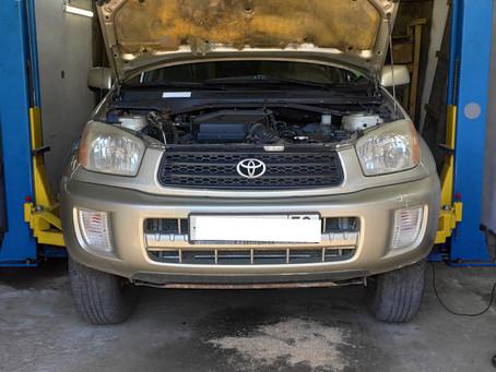 Диагностика акпп Toyota Rav-4 в Пензе