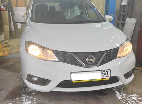 Техническое обслуживание вариатора Nissan Tiida
