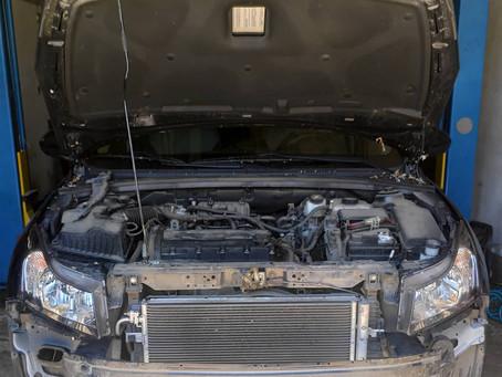 Установка дополнительного радиатора АКПП Chevrolet Cruze в Пензе