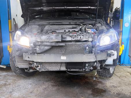 Дополнительный радиатор АКПП на Opel Insignia
