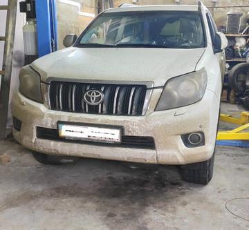 Диагностика и ремонт акпп Toyota Land Cruiser Prado 150