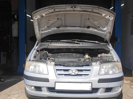 Диагностика автоматической коробки передач Hyundai в Пензе