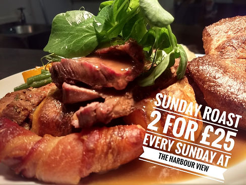 Sunday roast in tollesbury