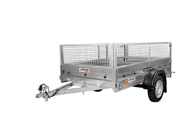 PRATIK N7-253 med gallergridar och stödhjul