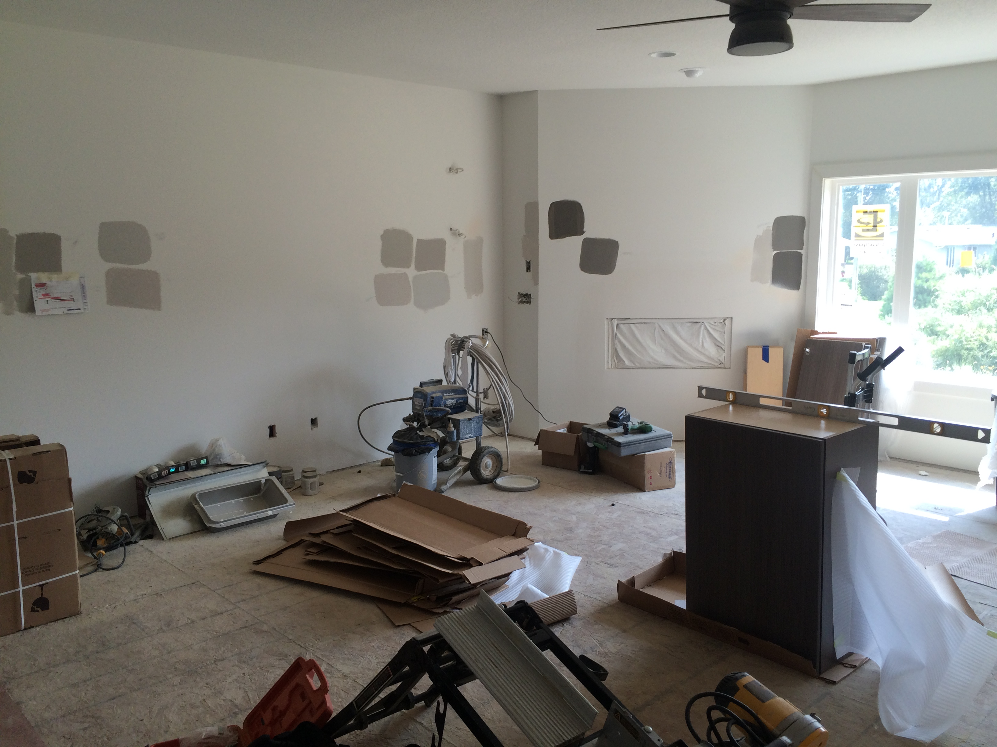 Kitchen Prep for Installation