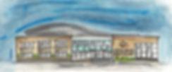 cedar valley sportsplex megan hannam art watercolor