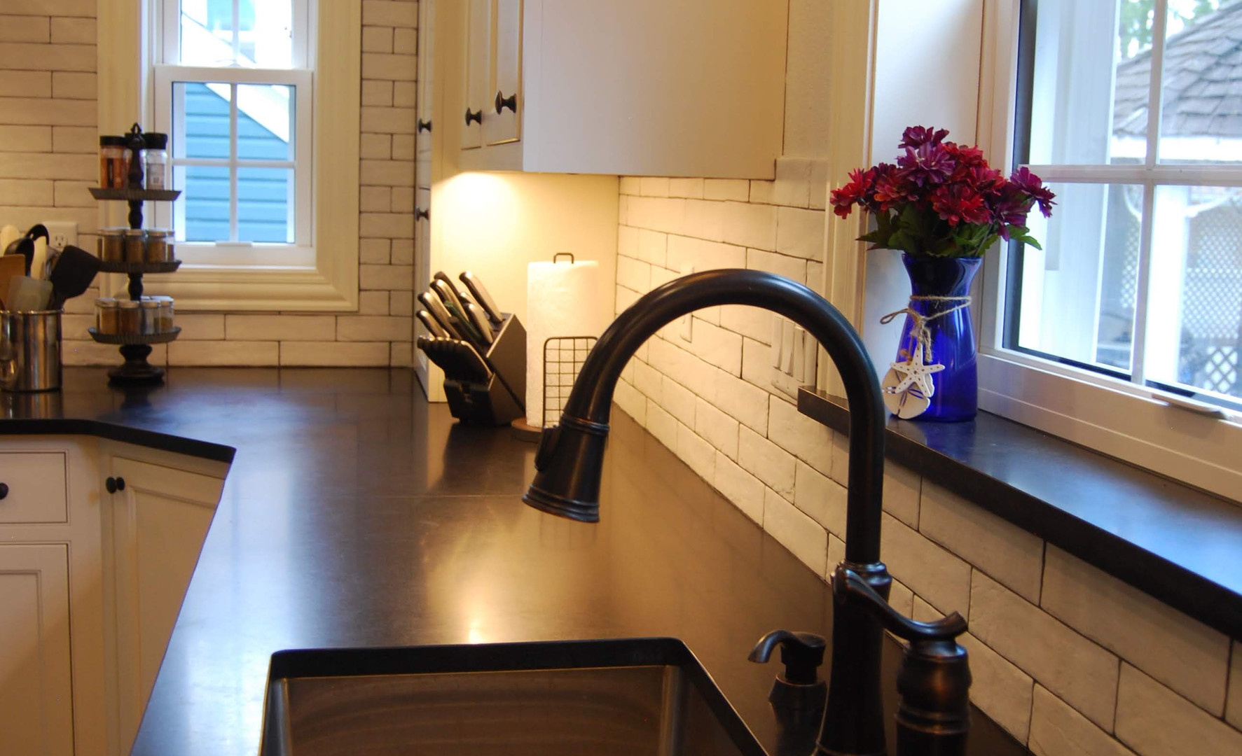 honed black granite countertops.jpg