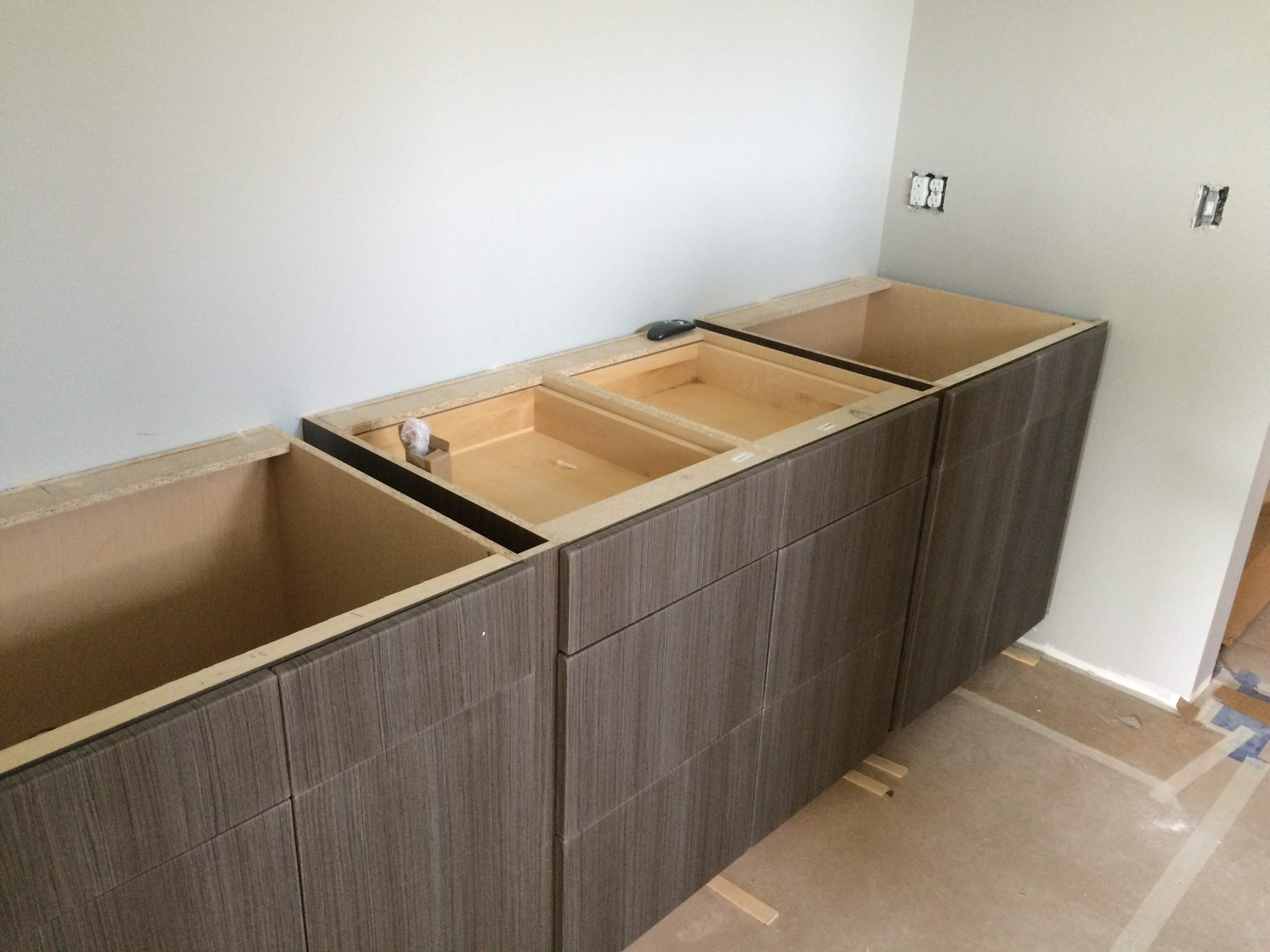 Master Bathroom Cabinetry Installation