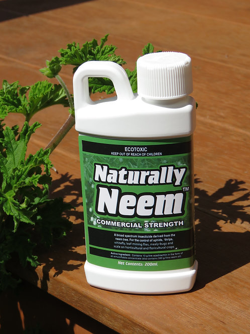Buy 3 get 1 FREE Naturally Neem Insecticide 200ml