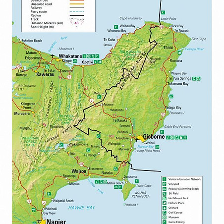 East Cape & Hawkes Bay