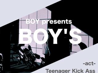 2019年7月20日(土)BOY presents「BOY'S」